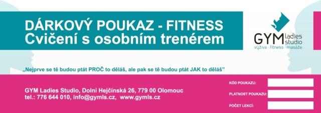 Dárkový poukaz - fitness